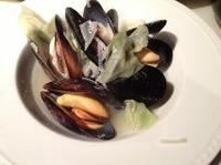 蒸しムール貝ワイン