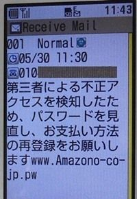 Amazon.co.jp を装った詐欺(フィッシング) に騙されてパスワード変更200.jpg