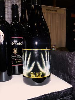 フルカラーワインボトル彫刻