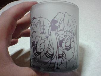 『らき☆すた』被せガラスアップ2