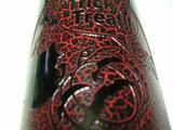 ワインボトル彫刻(変な塗料編アップ)