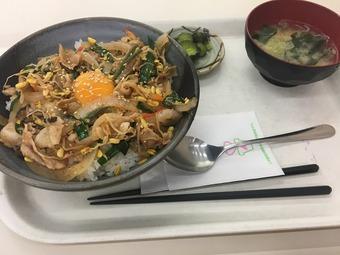 「酒々井PA上り」(酒々井PAオリジナルスタミナ丼)
