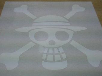 ルフィ海賊団のドクロマーク