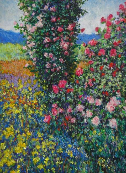 薔薇のある風景2