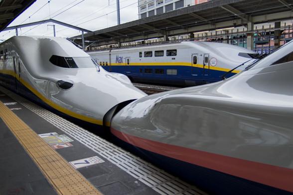 新幹線大盛り写真@高崎