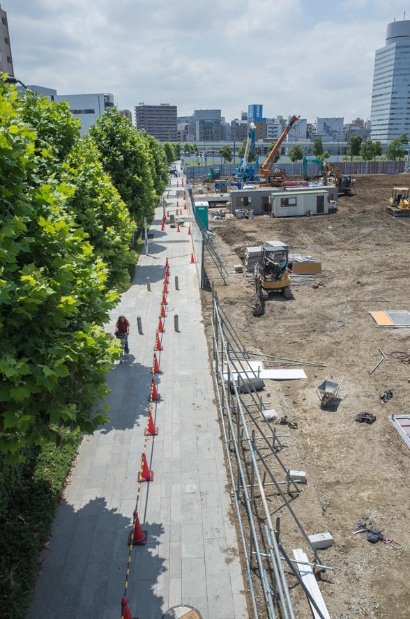 まだまだ再開発中の横浜