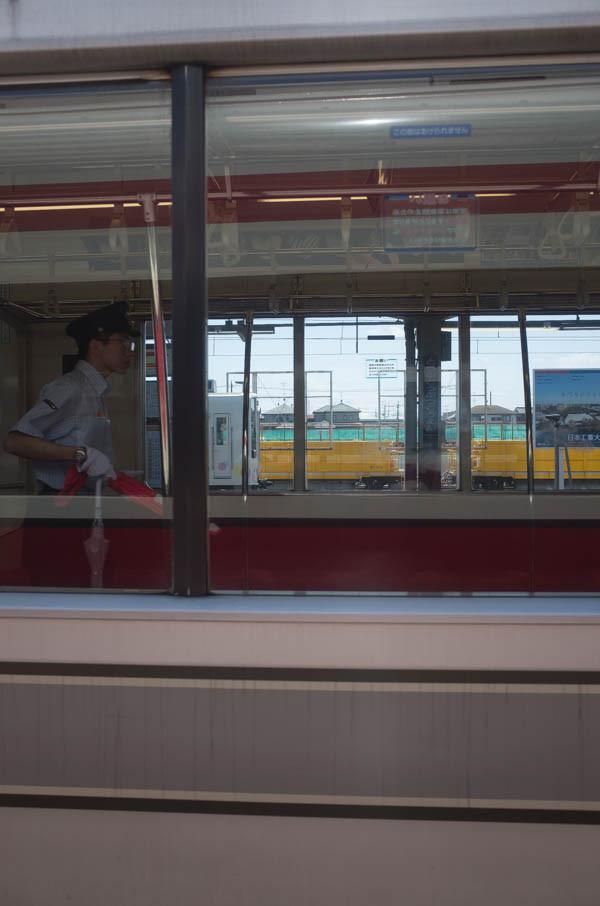 東武線の車窓から