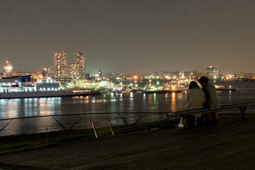 大桟橋からアベック方向を望む