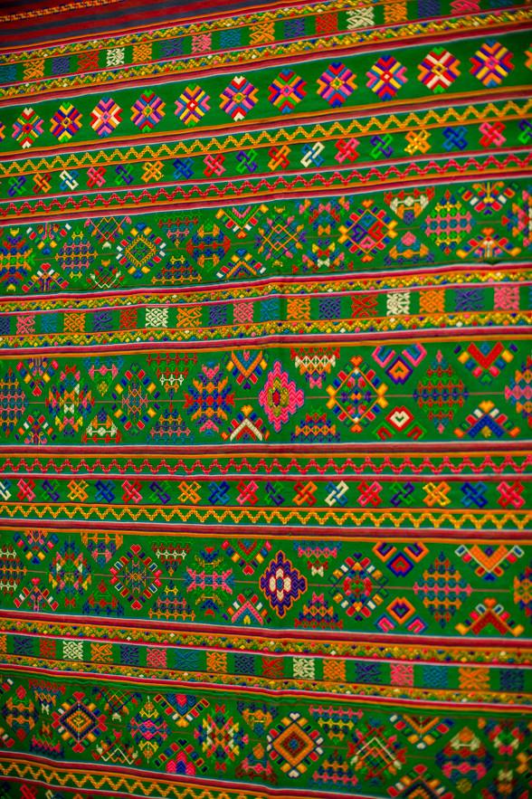 ブータンの織物