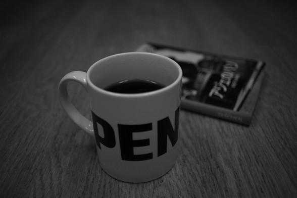 PENTAXマグカップと納豆バス