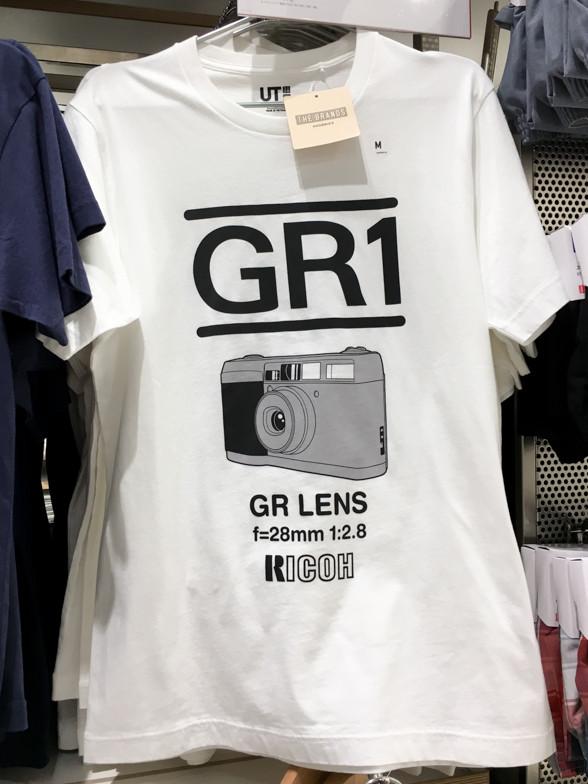 ユニクロで GRのTシャツに遭遇