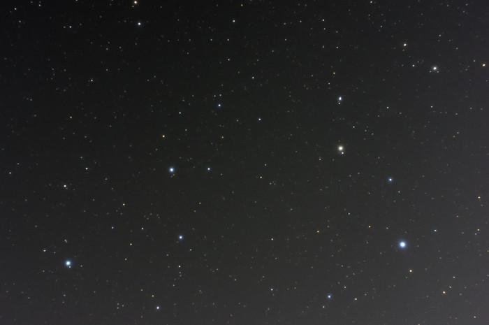 市街地での星空写真
