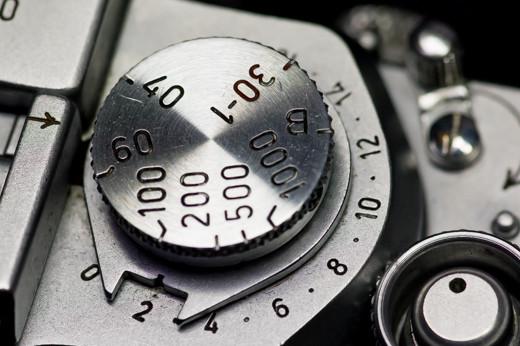 Leica IIIfのシャッターダイヤル