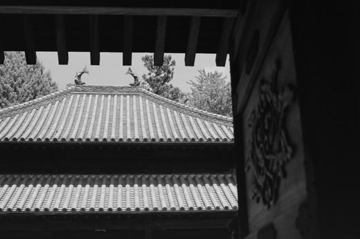 足利学校内の孔子廟