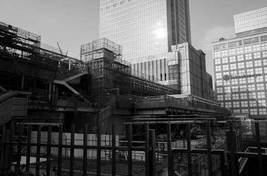 新宿駅南口方面