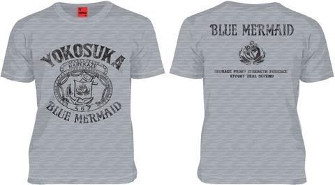 ハイスクール フリート 海洋学校 Tシャツ 杢グレー
