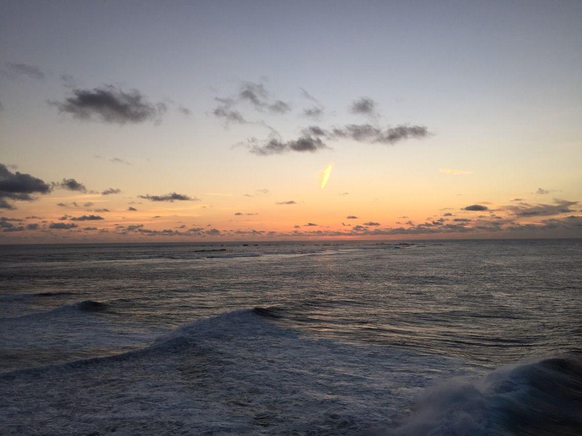 宮古島、東平安名崎の朝陽