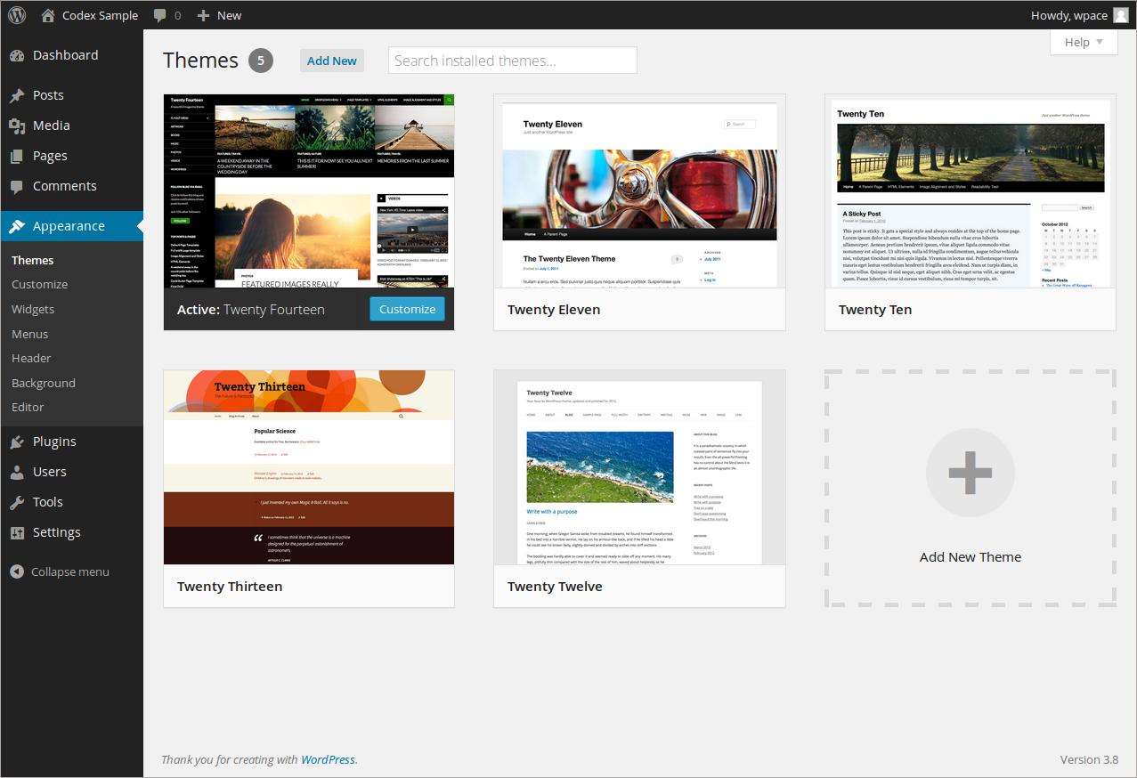 Wordpressで簡単なホームページを作る手順