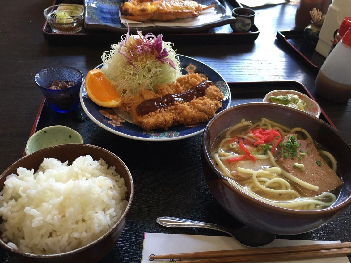 宮古島の美味しいトンカツ専門店、とんかつ一番食べてきたよ!