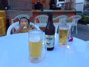 ビールと焼き鳥。言うことナッシング!