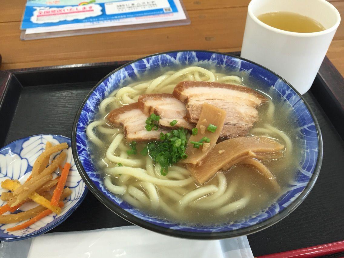 宮古島、高校生カフェんまがぬ家の宮古そば食べてきたよ!