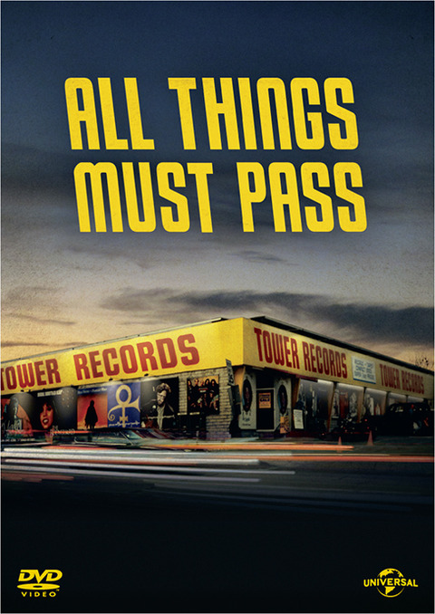 ALL THINGS MUST PASSパッケージ