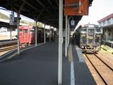 吉松駅にて