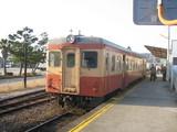 加津佐駅にて