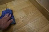 床コート磨き