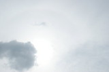 雲が・・・