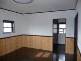 西川邸寝室