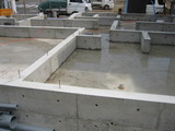 基礎工事完了20120413