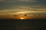 サンセット沖縄沖
