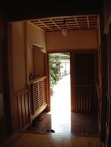 中原邸玄関