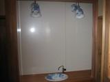 洗面台・ライトオフ
