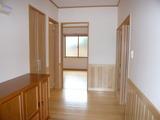 高木邸玄関ホール