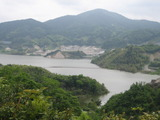 嘉瀬川ダム湖0521