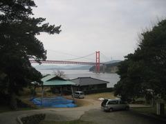 平戸大橋を望む