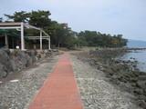 砂湯の前海岸