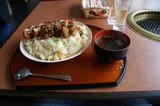 むさし屋の昼食