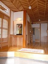 平山邸玄関