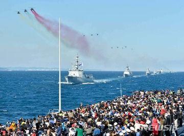 【韓国】済州国際観艦式、中国艦艇が不参加表明wwwww