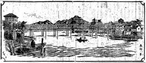 松江大橋(山陰新聞より)