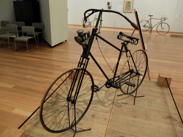 自転車の世紀』郡山市立美術館へ...