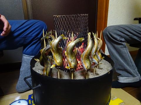 鮎塩焼き 2 (1)