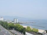 9階展望大浴場から見える別府湾