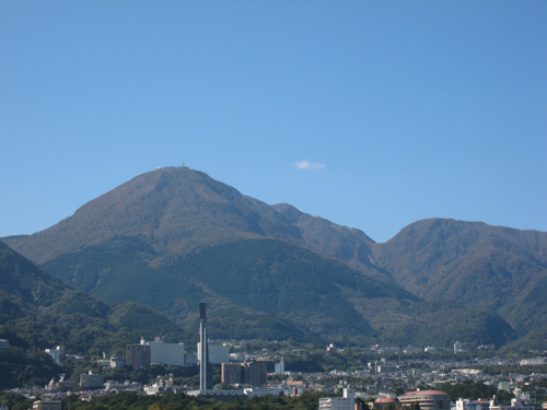 20091103別府の山並み