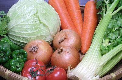 毒出し脂肪燃焼スープの野菜