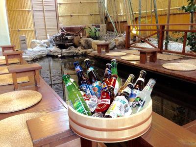 足湯de楽しむ世界のビール祭2015s