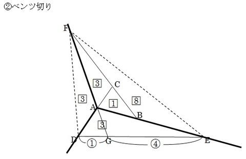 2017灘中1日目9解説図2